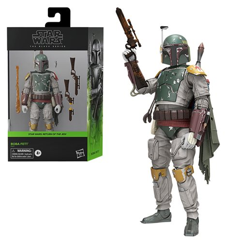 BOBA FETT DELUXE Star Wars The Black Series 6-inch Action Figure