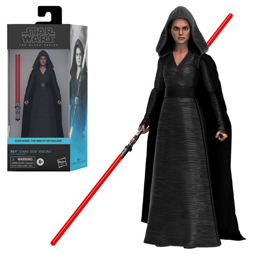 REY DARK SIDE VISION Star Wars The Black Series 6-inch Action Figure
