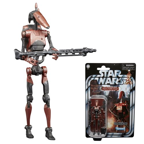 HEAVY BATTLE DROID - Star Wars The Vintage Collection Gaming Greats 3 3/4 inch Action Figure