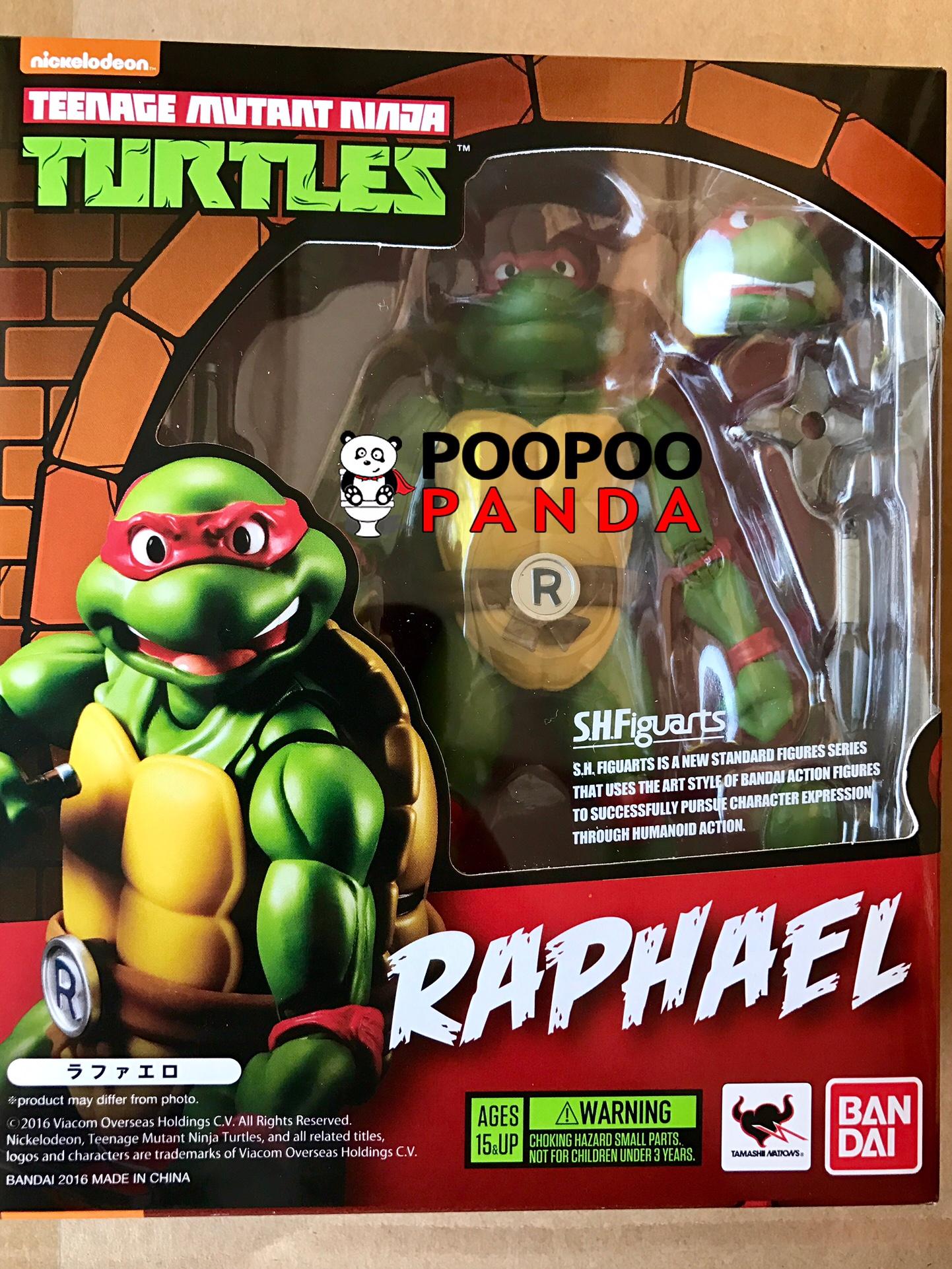 Bandai S H  Figuarts TMNT Raphael