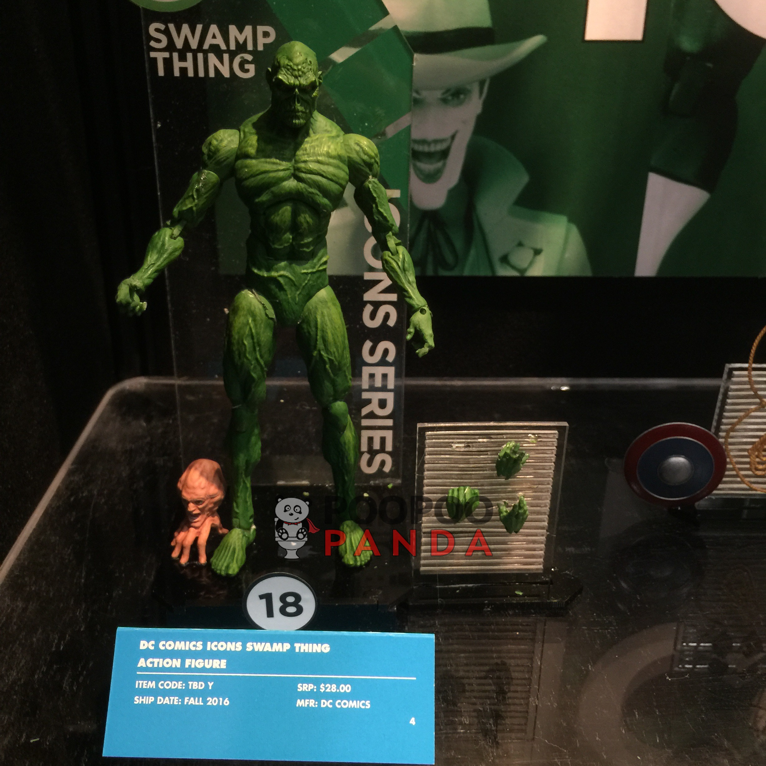 DC icone Swamp Thing Action Figure
