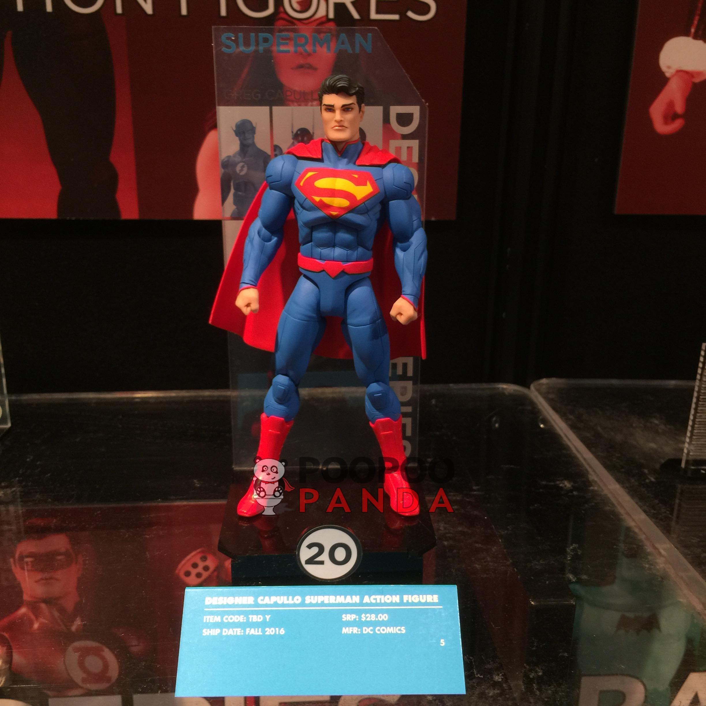 dc designer series greg capullo superman action figure. Black Bedroom Furniture Sets. Home Design Ideas