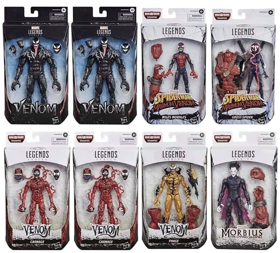(VENOMPOOL BAF) Marvel Legends VENOM Wave 1 (Case of 8)