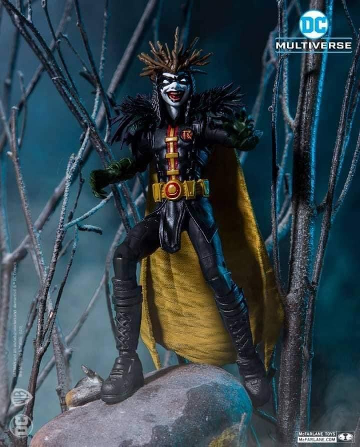 DEATH METAL ROBIN KING DC MULTIVERSE McFarlane Toys 7-Inch Action Figure