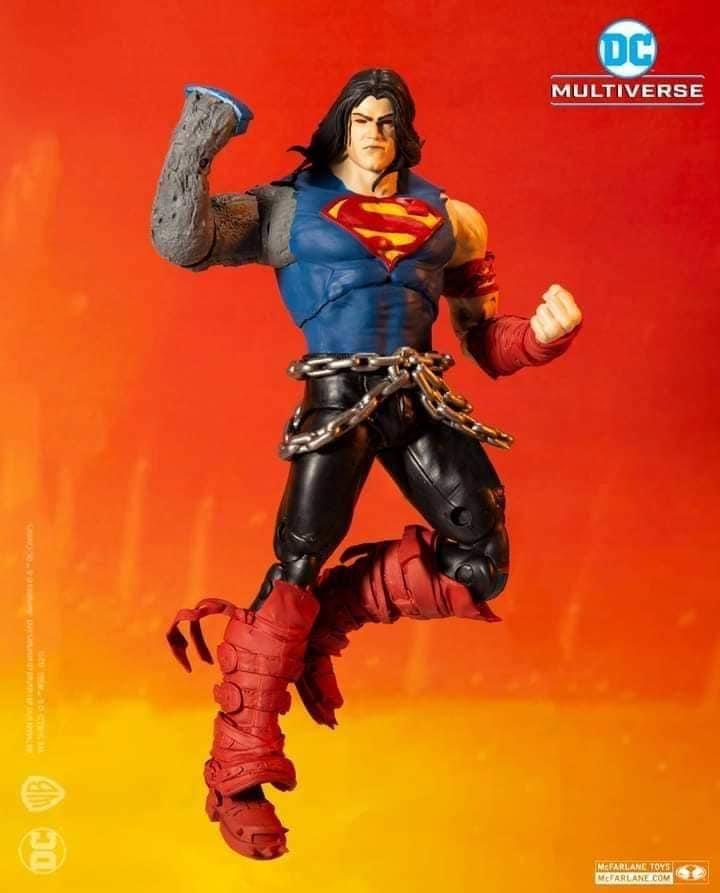 DEATH METAL SUPERMAN DC MULTIVERSE McFarlane Toys 7-Inch Action Figure