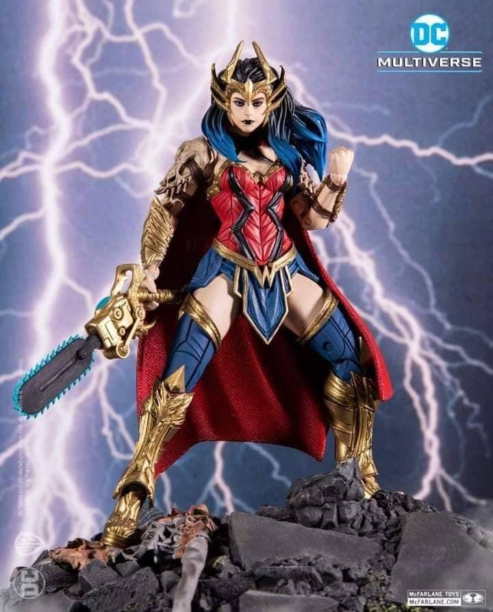 DEATH METAL WONDER WOMAN DC MULTIVERSE McFarlane Toys 7-Inch Action Figure