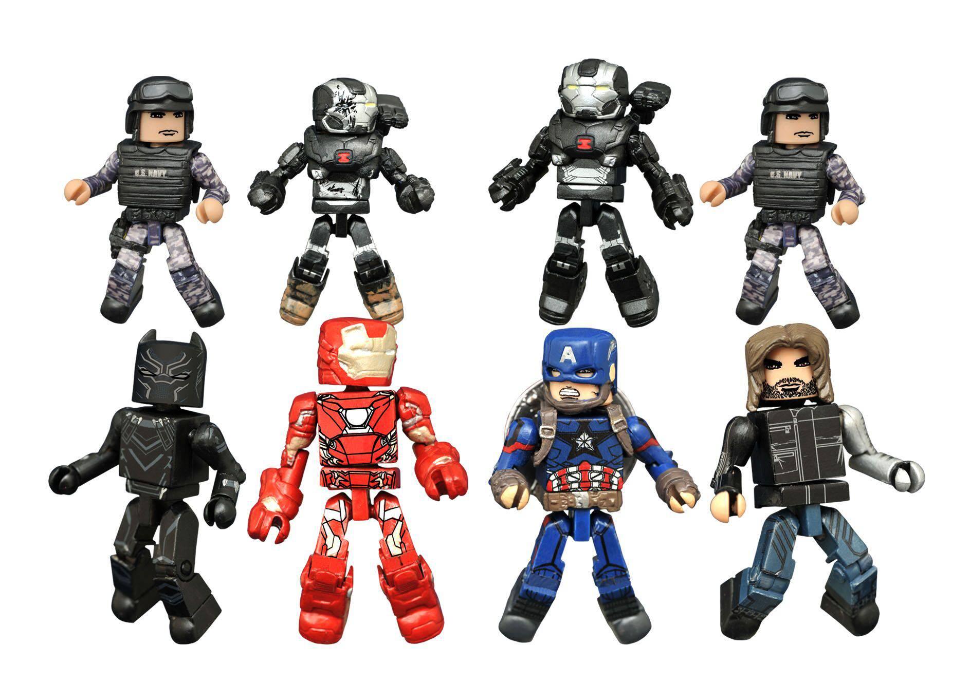 Marvel Minimates Series 67 Captain