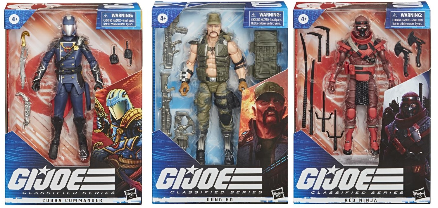 G.I. Joe Classified Series 6-Inch Action Figures Wave 2 (Set of 3)