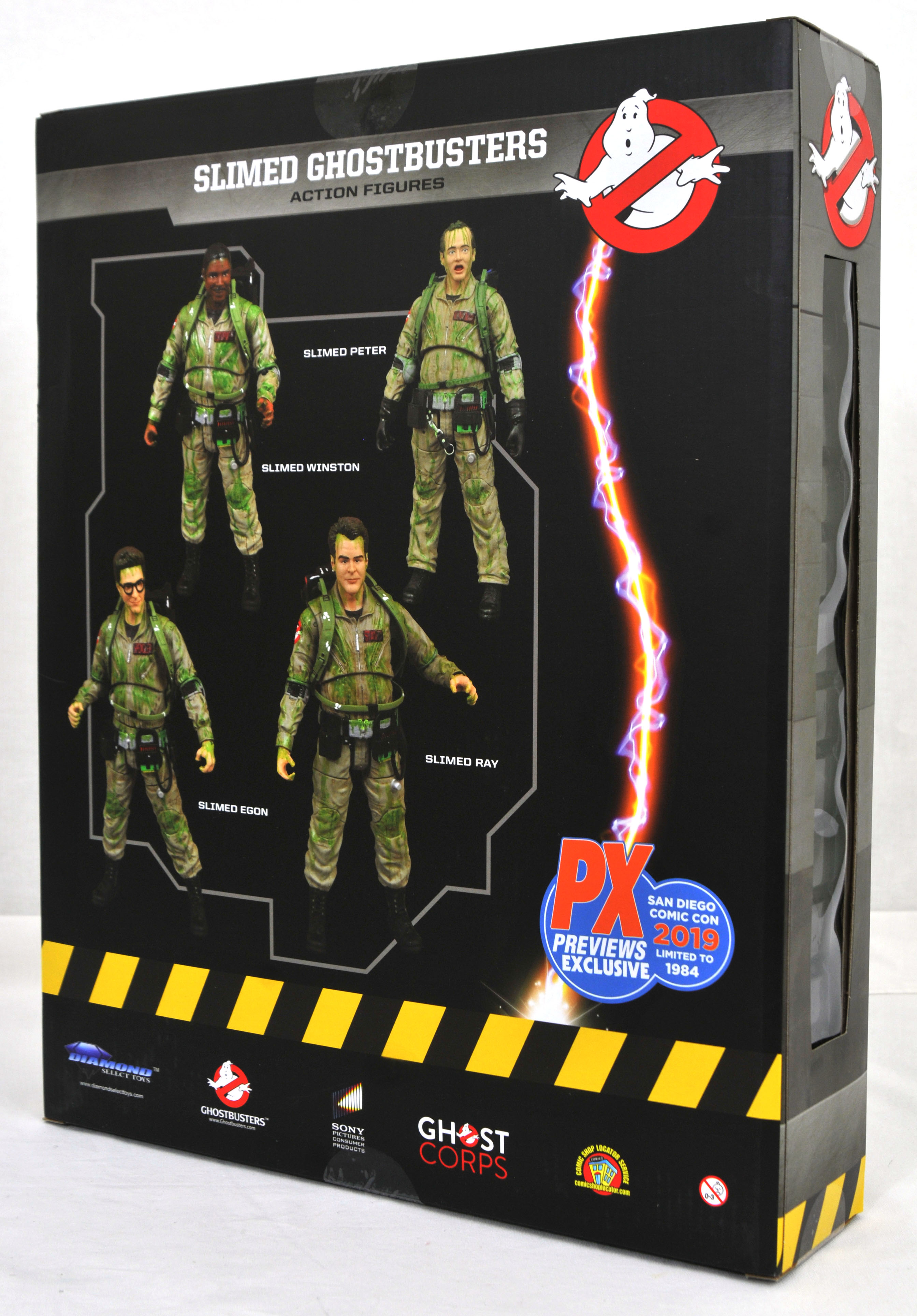 SDCC 2019 GHOSTBUSTERS ACTION FIGURE BOX SET