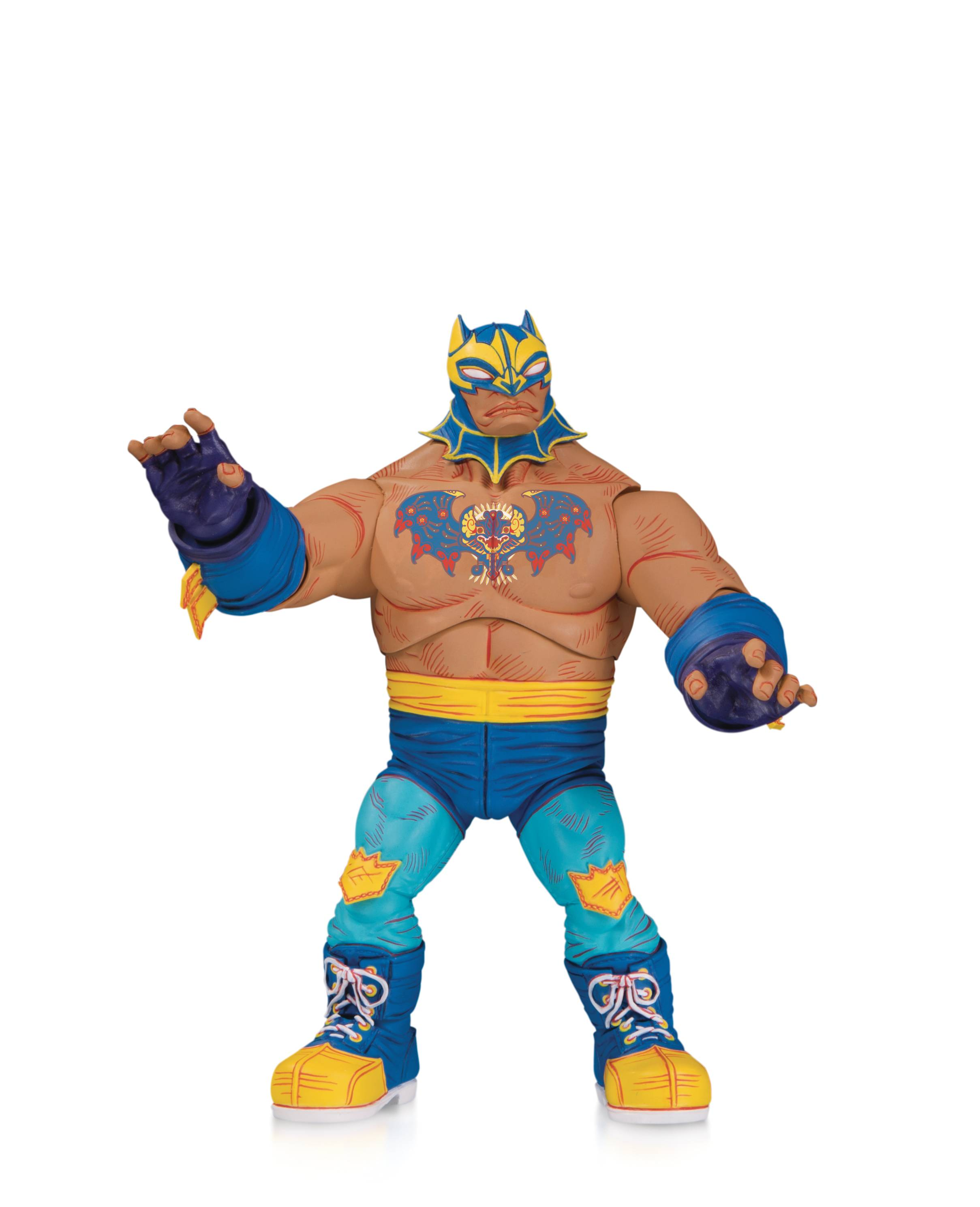 """wrestling lucha libre action figures 7/"""" mexican wrestlers"""