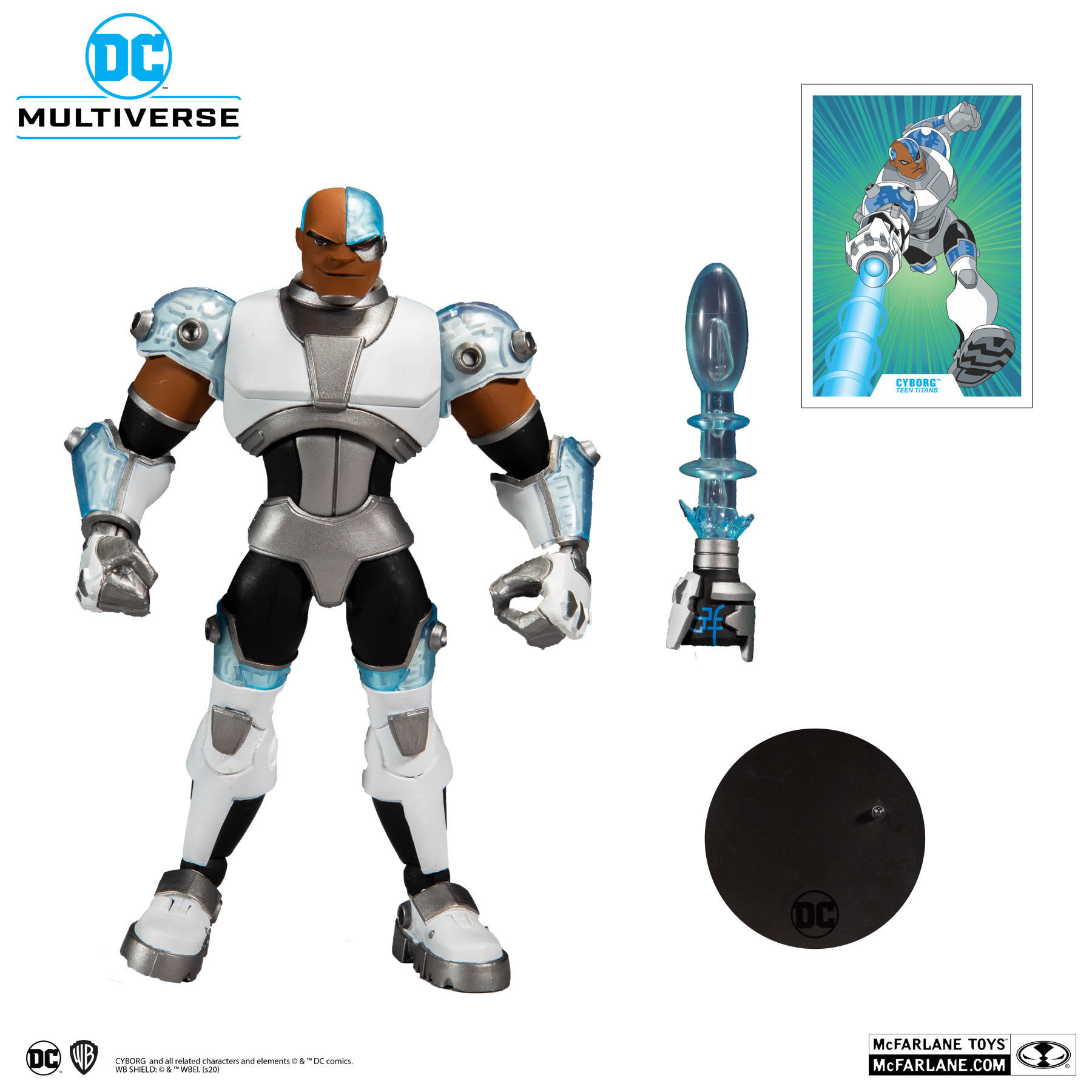 TEEN TITANS CYBORG - DC MULTIVERSE McFarlane Toys 7-Inch Action Figure