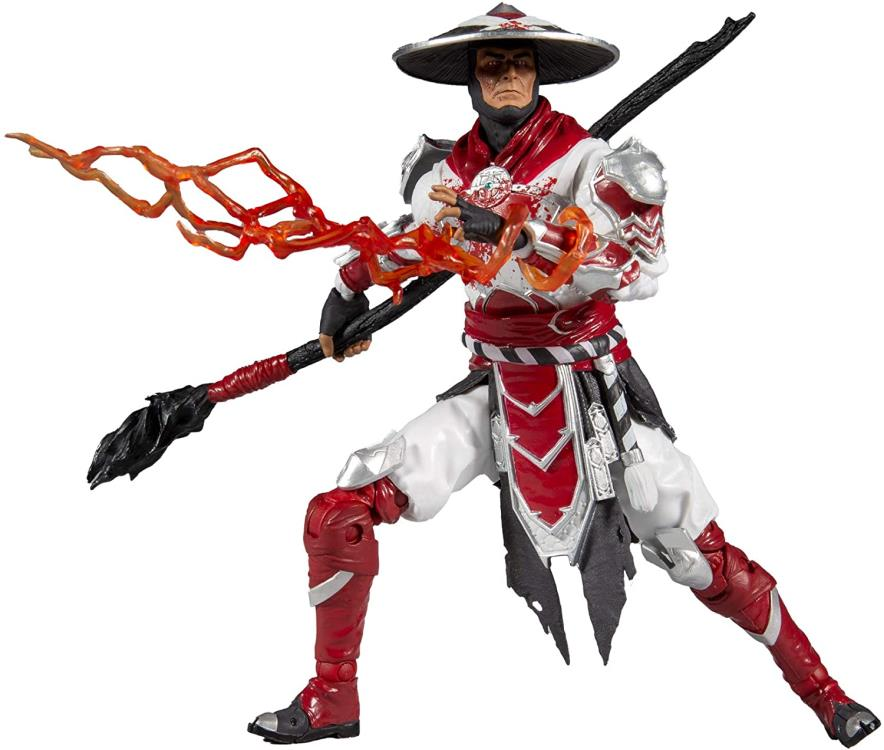 Bloody Raiden Mortal Kombat Series 4 7-inch Action Figure -McFarlane Toys