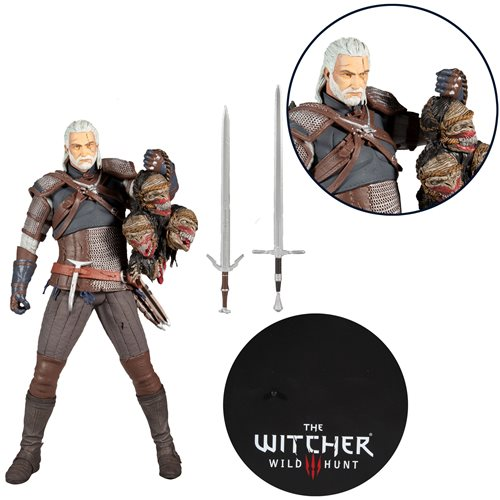 GERALT OF RIVIA 12-INCH - THE WITCHER 3 - McFarlane Toys Action Figure