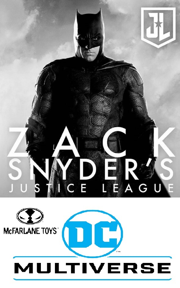 BATMAN -  DC ZACK SNYDER JUSTICE LEAGUE McFarlane Toys 7-Inch Action Figure