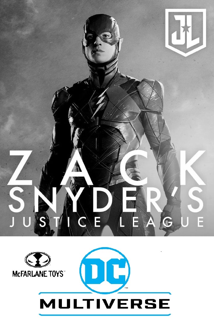 FLASH -  DC ZACK SNYDER JUSTICE LEAGUE McFarlane Toys 7-Inch Action Figure