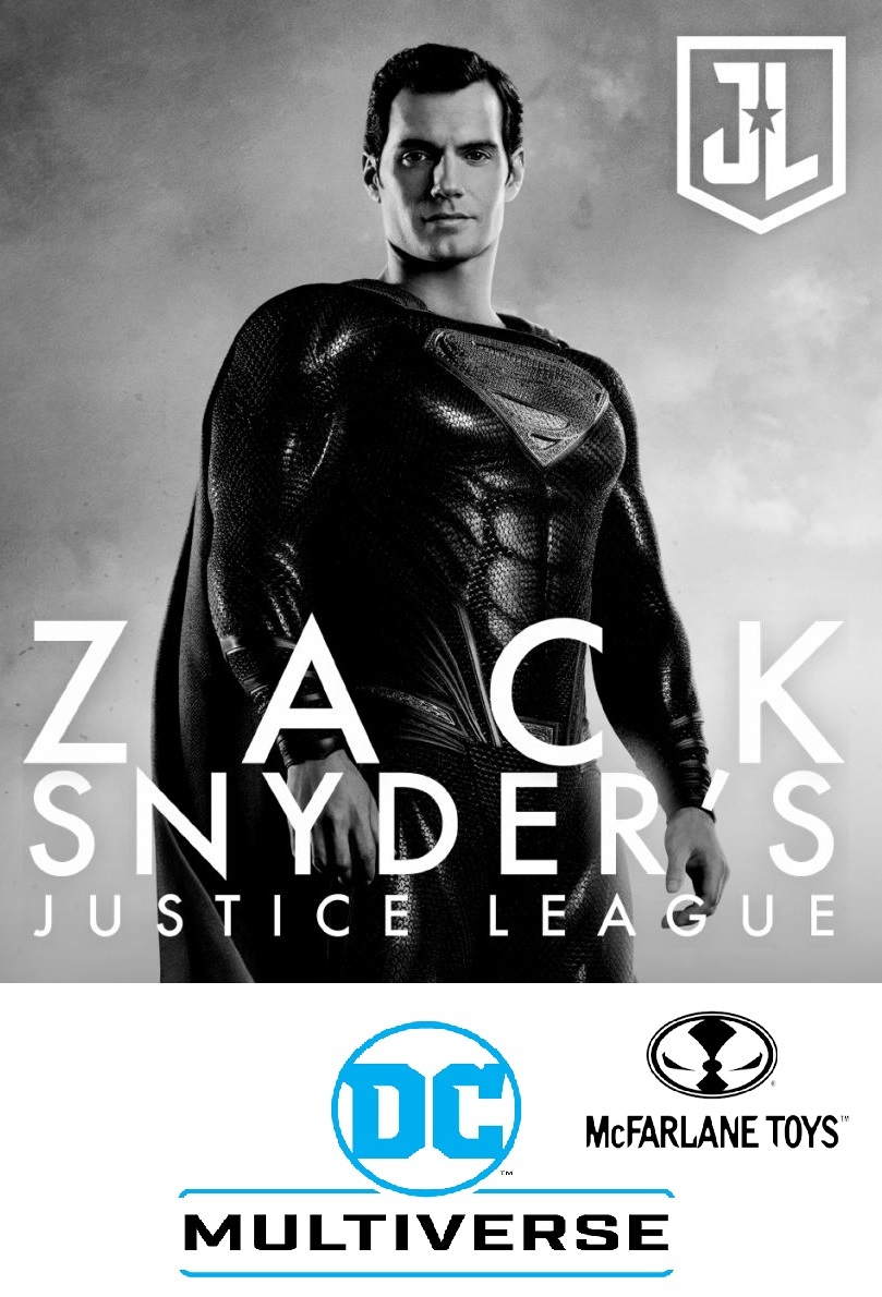 SUPERMAN -  DC ZACK SNYDER JUSTICE LEAGUE McFarlane Toys 7-Inch Action Figure