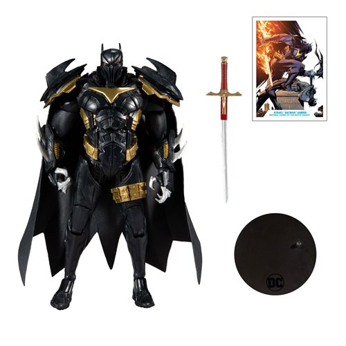 WHITE KNIGHT AZRAEL BATMAN - DC MULTIVERSE McFarlane Toys 7-Inch Action Figure