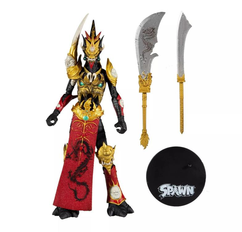 MANDARIN SPAWN RED OUTFIT - McFarlane Toys  7-Inch Action Figure