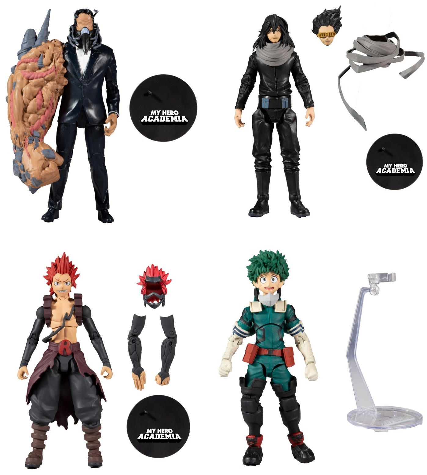 MY HERO ACADEMIA SERIES 4  (SET OF 4) McFarlane Toys  7-Inch Action Figure