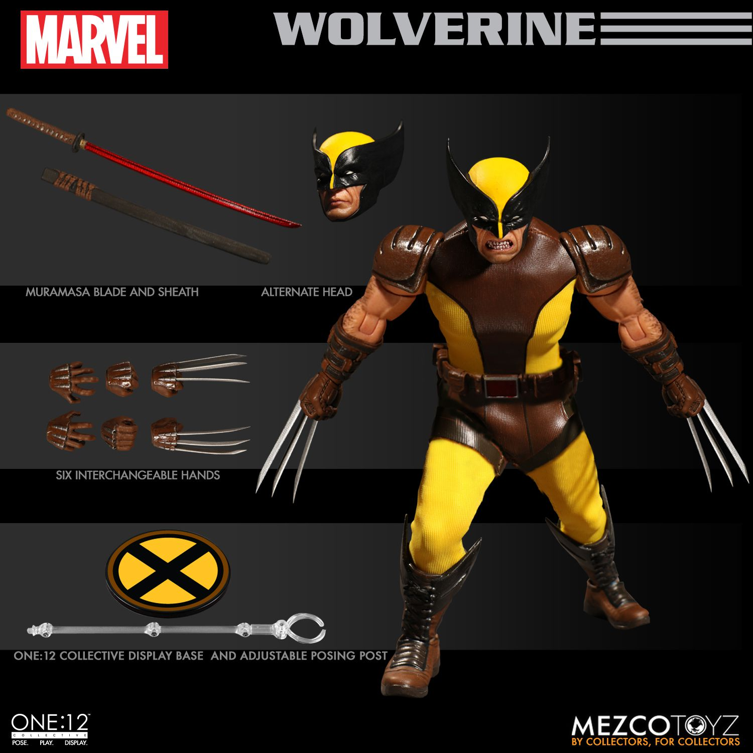 Mezco One:12 Collective Marvel Blade 1//12 Action Figure IN STOCK