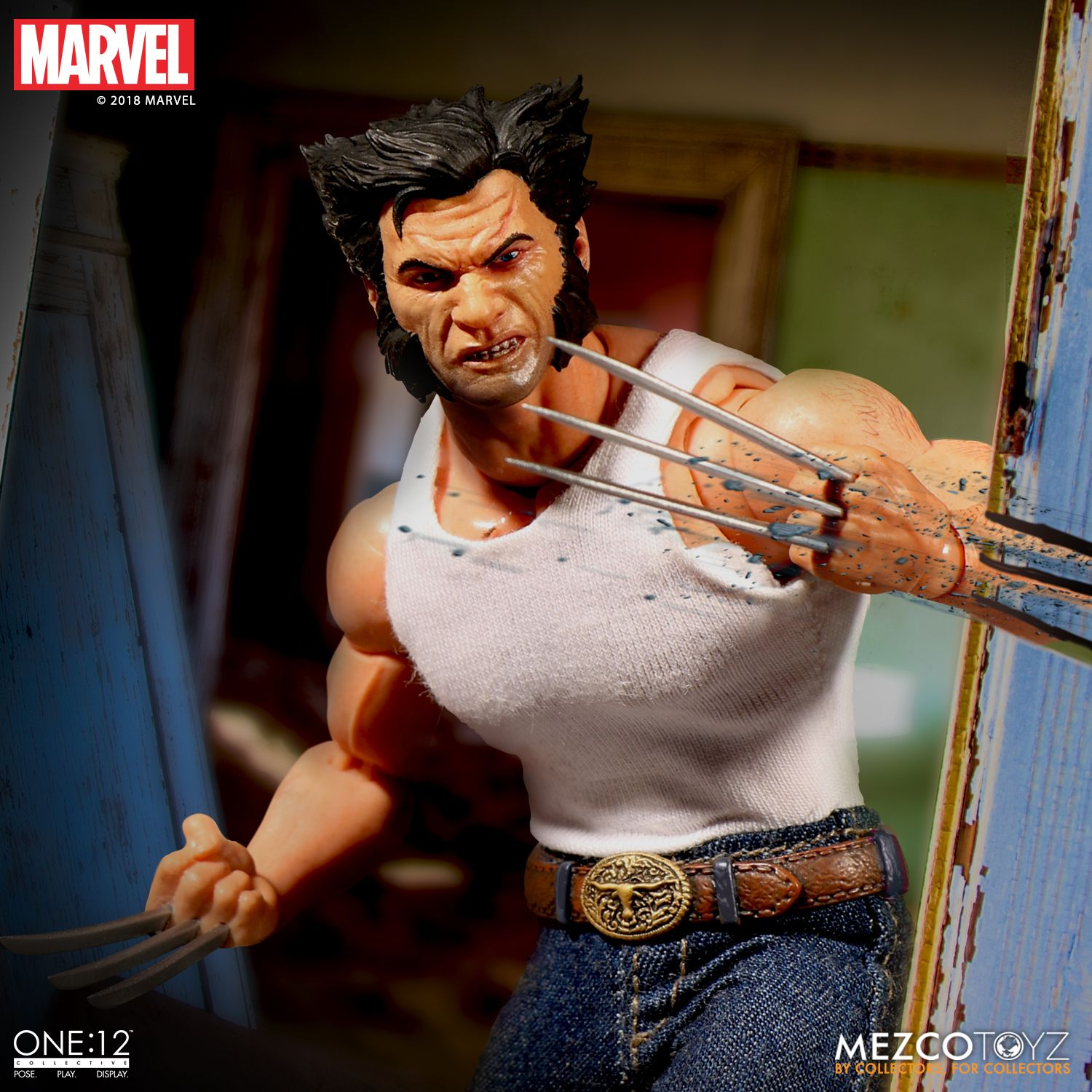 MEZCO WOLVERINE X-Men one 12 collective 6 inch Figure IN STOCK SHIPPING NOW