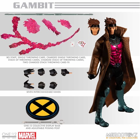 GAMBIT - Mezco One:12 Collective