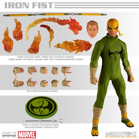 IRON FIST - Mezco One:12 Collective