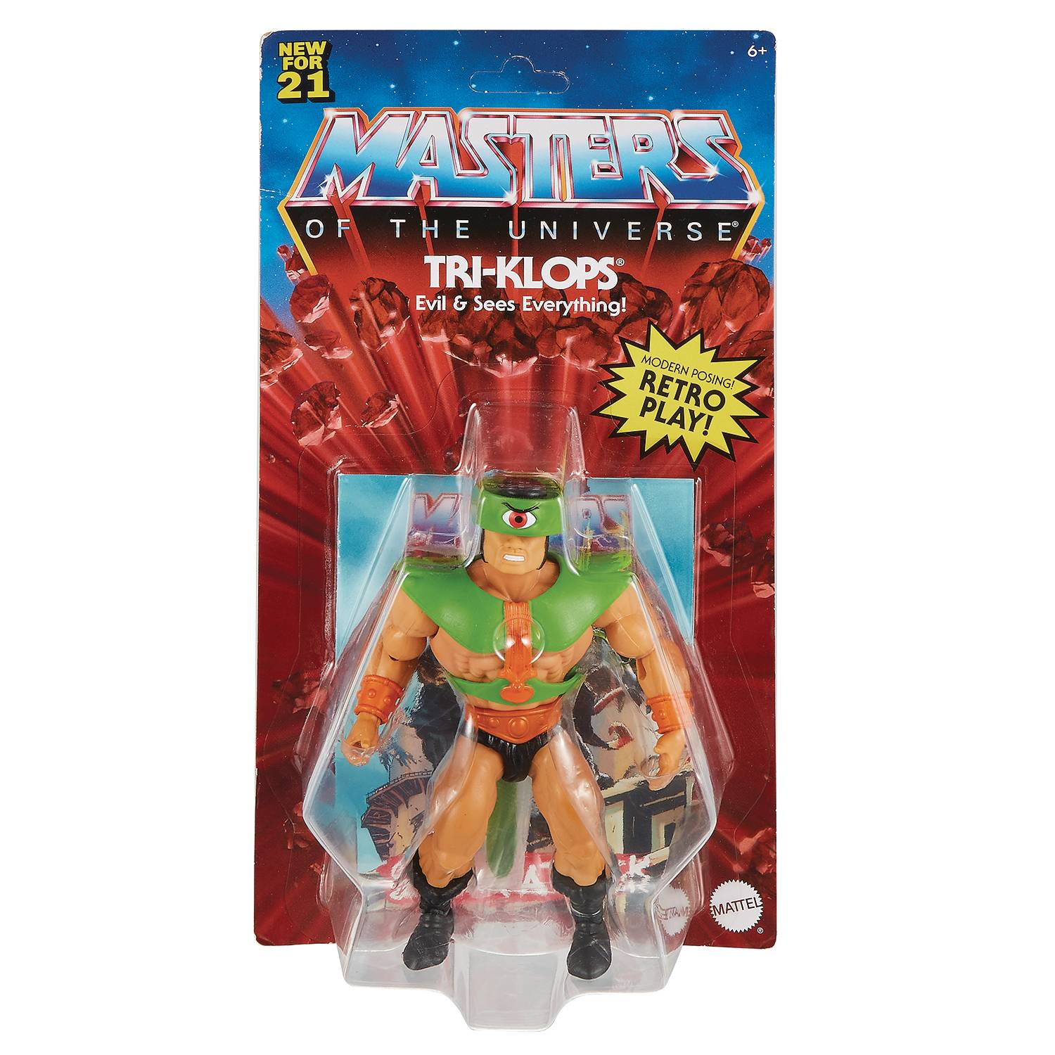 TRI-KLOPS - MASTERS OF THE UNIVERSE ORIGINS ACTION FIGURE