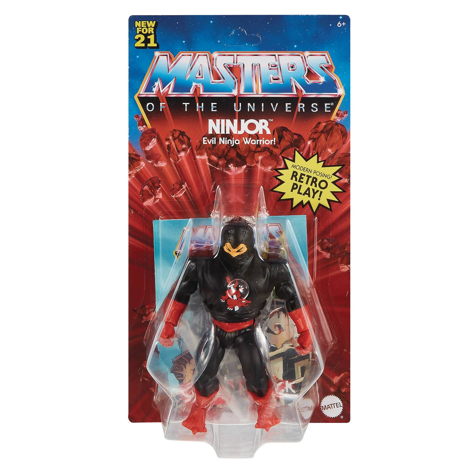 NINJOR - MASTERS OF THE UNIVERSE ORIGINS ACTION FIGURE