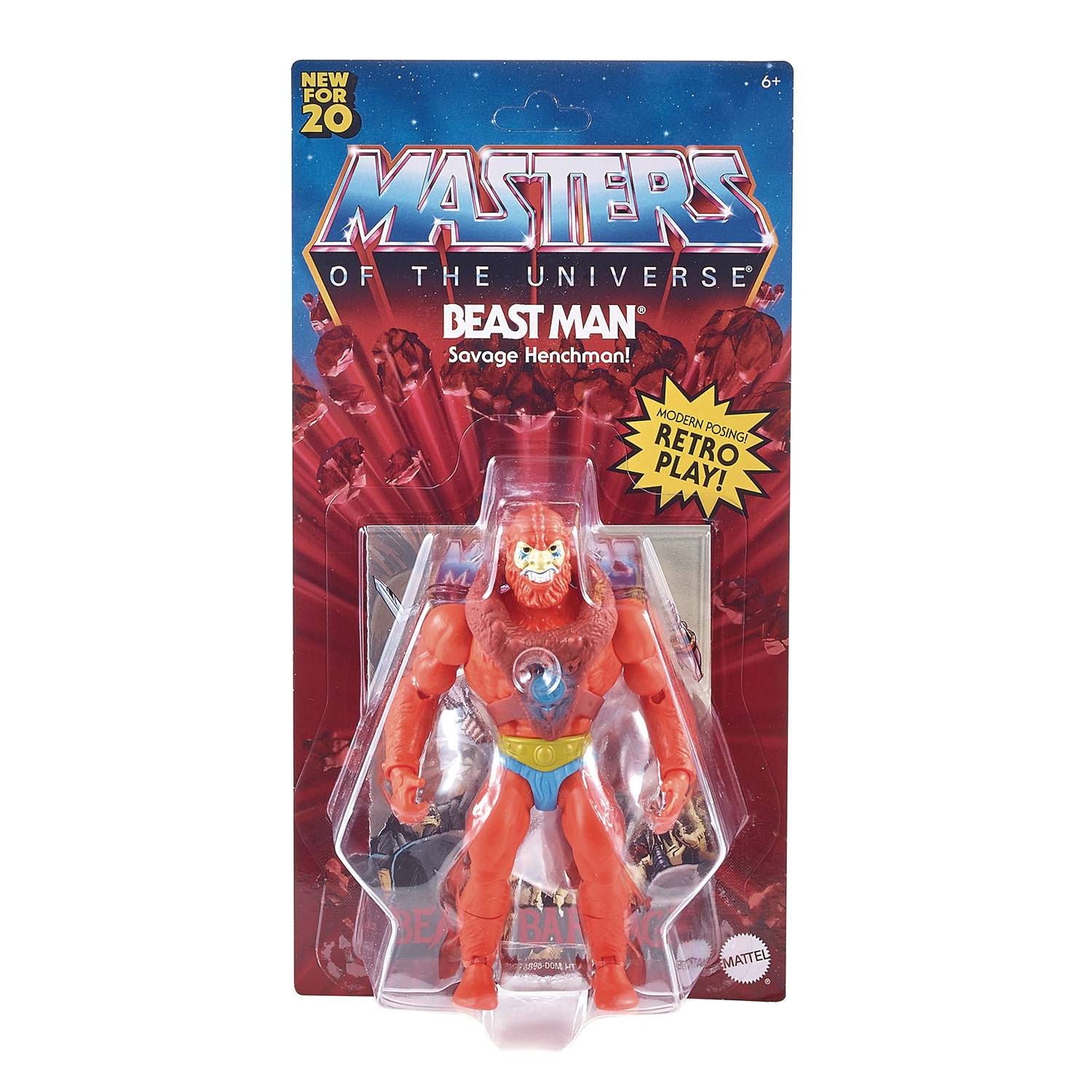 ROBOTO - MASTERS OF THE UNIVERSE ORIGINS ACTION FIGURE
