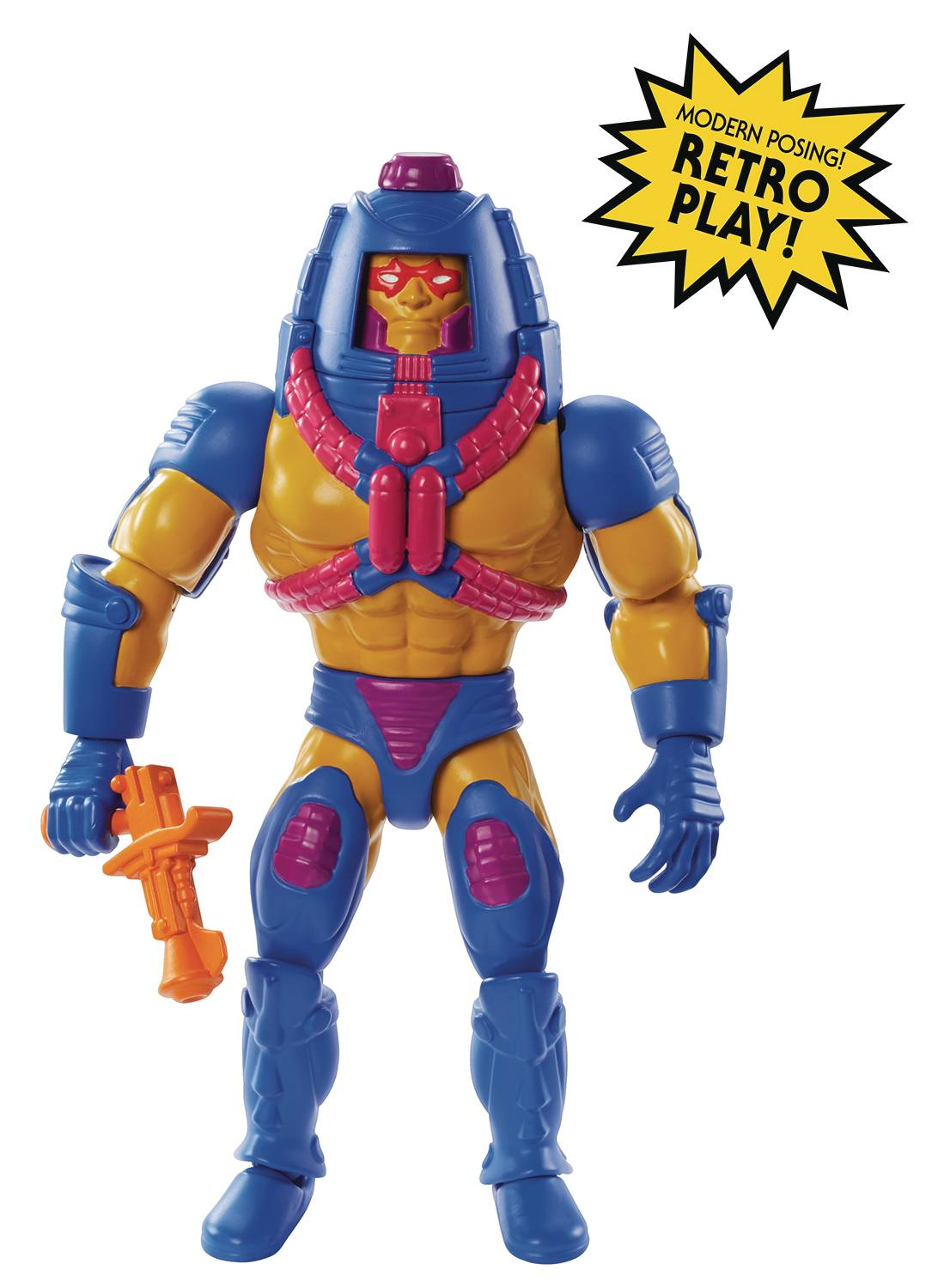 MAN-E-FACES - MASTERS OF THE UNIVERSE ORIGINS ACTION FIGURE