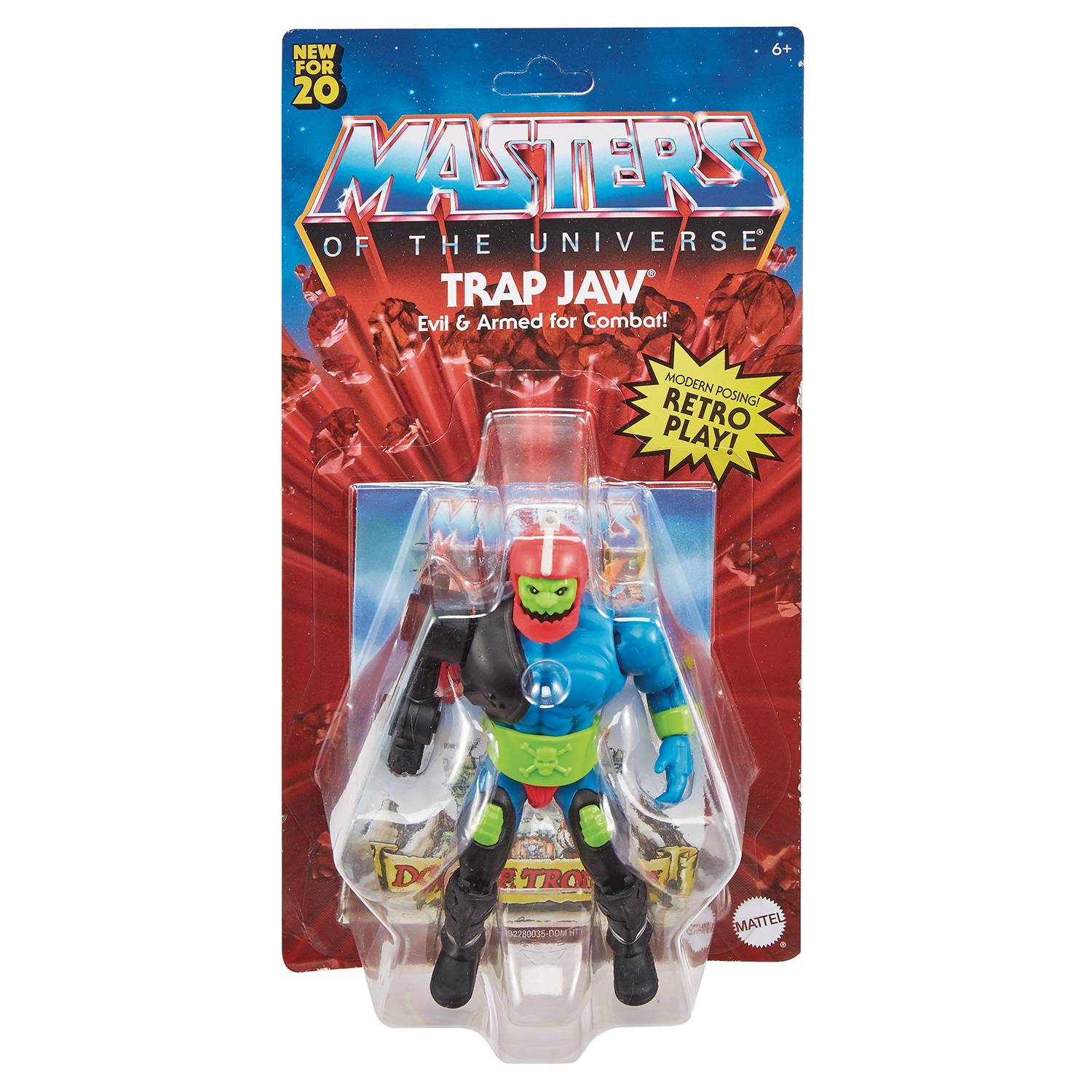TRAP JAW - MASTERS OF THE UNIVERSE ORIGINS ACTION FIGURE