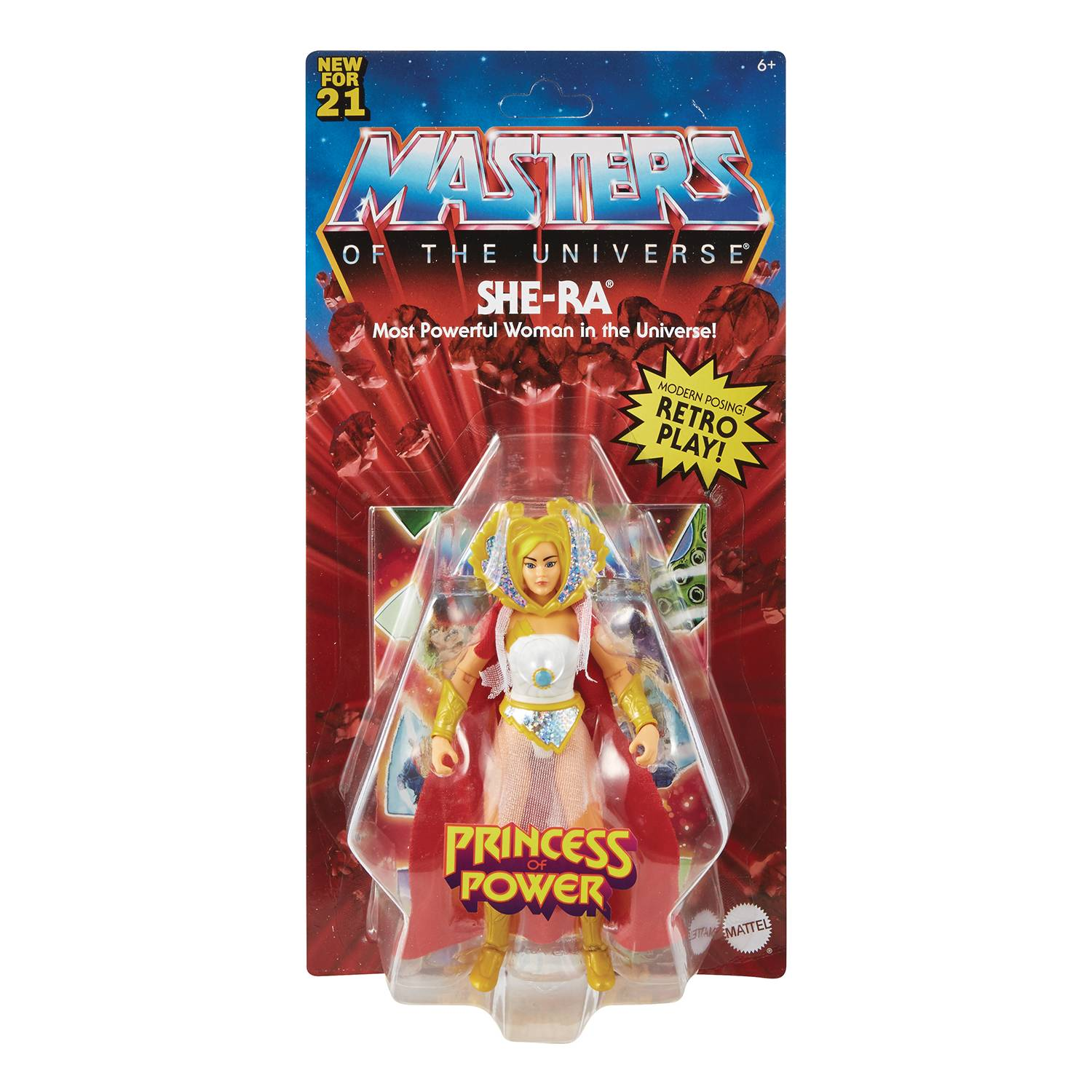 SHE-RA - MASTERS OF THE UNIVERSE ORIGINS ACTION FIGURE