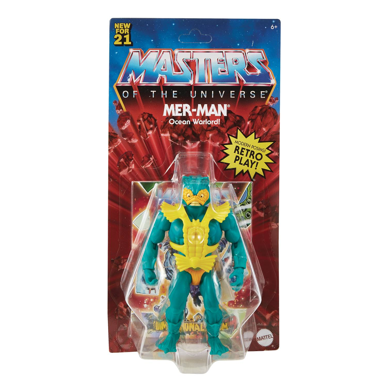 MER-MAN - MASTERS OF THE UNIVERSE ORIGINS ACTION FIGURE