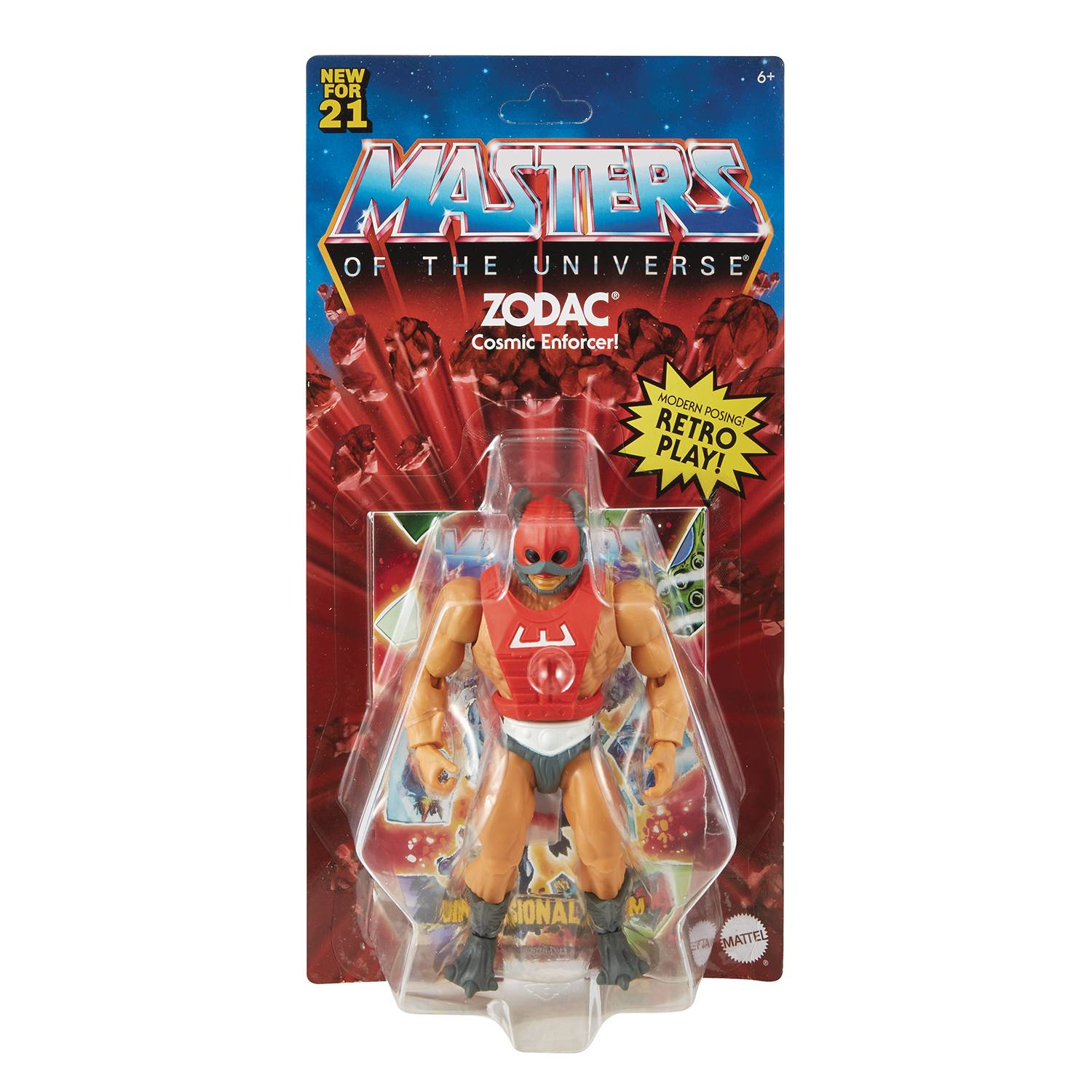 ZODAC - MASTERS OF THE UNIVERSE ORIGINS ACTION FIGURE