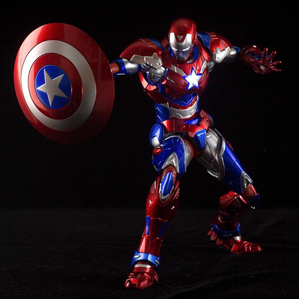 SEN-TI-NEL RE:EDIT #03 Iron Patriot SDCC 2016 Exclusive IN STOCK USA
