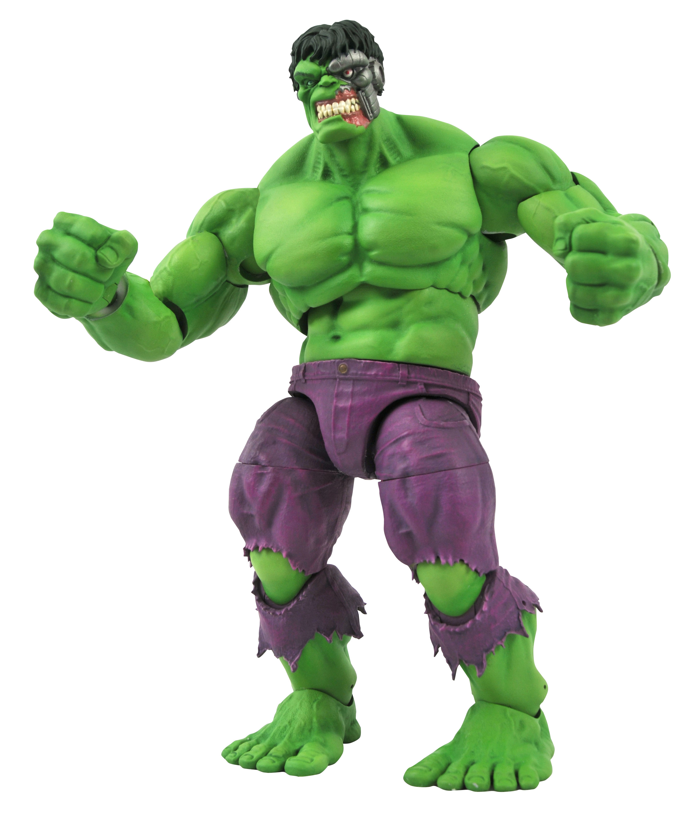 RAMPAGING HULK - MARVEL SELECT ACTION FIGURE