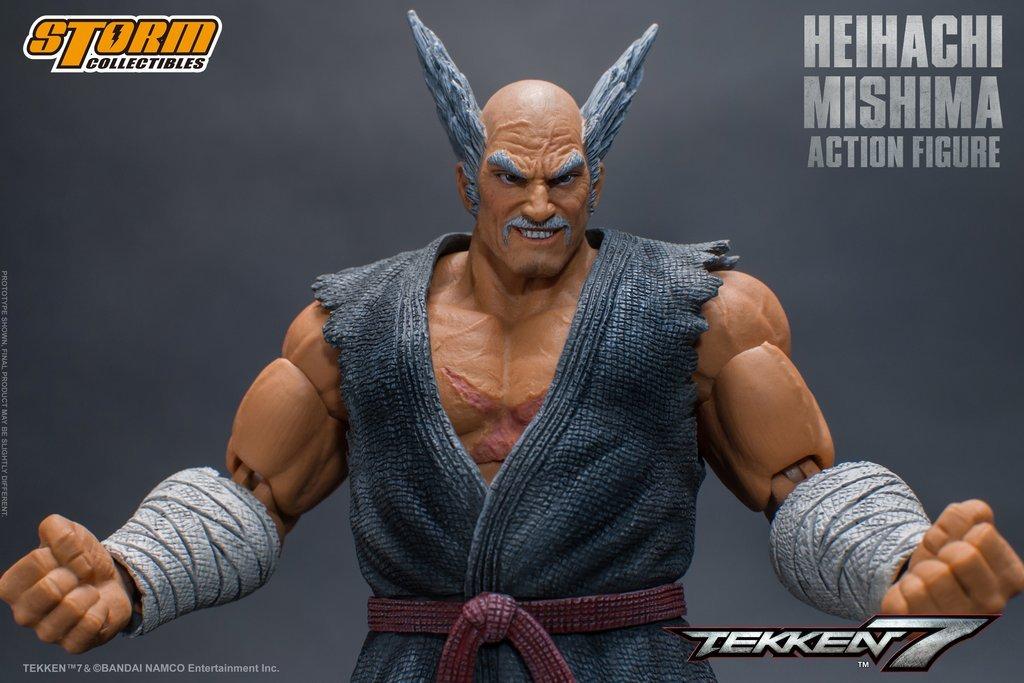 Tekken 7 Heihachi Mishima Storm Collectibles Sdcc 2018 Exclusive 1 12 Scale Action Figure