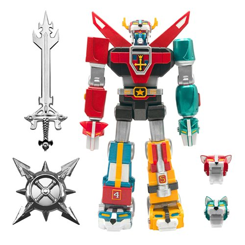 Voltron Ultimates Toy Deco 6-Inch Action Figure by Super7