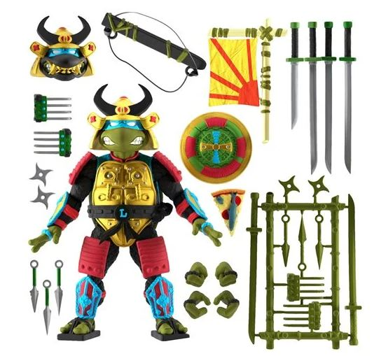 LEO THE SEWER SAMURAI - TMNT ULTIMATES  7-Inch Action Figure