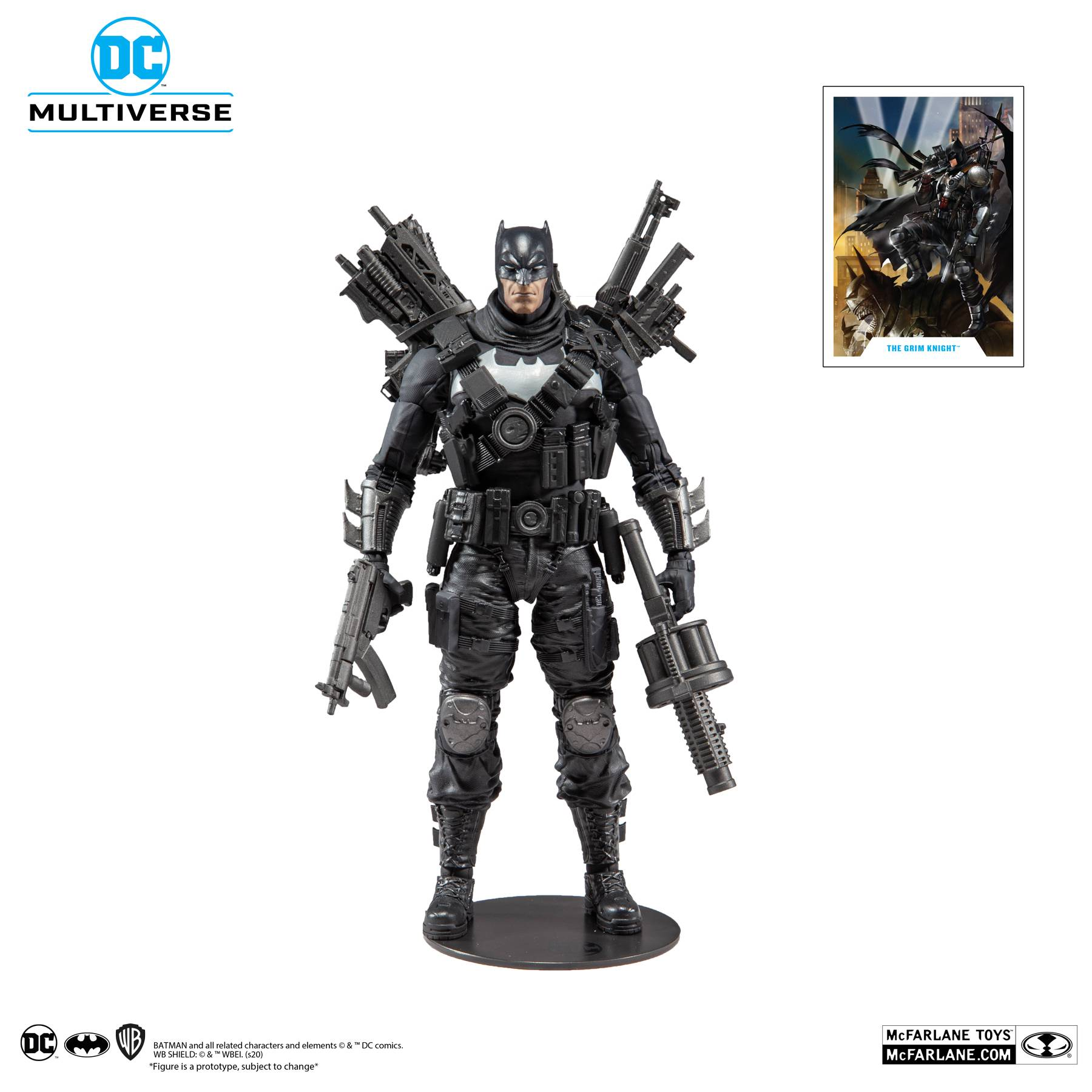 THE GRIM KNIGHT - DC MULTIVERSE McFarlane Toys 7-Inch Action Figure