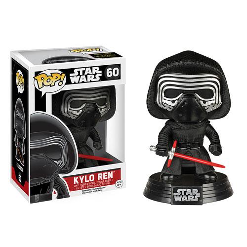 Star Wars Episode 7 Vinyl Unmasked Kylo Ren Pop