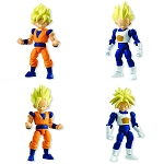 66 Action Dragon Ball Z Trading Figures (Box/10)