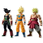 Shodo Dragonball Z Neo (Set of 3 : Super Saiyan Son Gokou, Broly and Bardock)