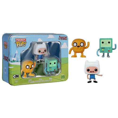 Adventure Time Pocket Pop Mini Vinyl Figure 3 Pack Tin
