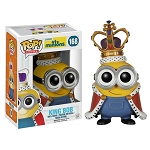 Despicable Me Minions: Minion King Pop! Vinyl Figure