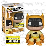 Batman 75th Anniversary Yellow Rainbow Batman Pop! Vinyl Figure - Entertainment Earth Exclusive