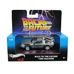 Hotwheels Elite One 1:50 BACK TO THE FUTURE TIME MACHINE