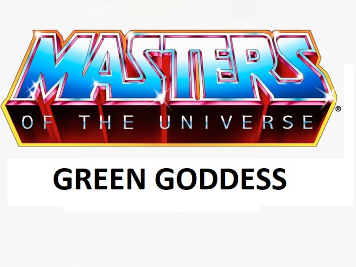 GREEN GODDESS - MASTERS OF THE UNIVERSE ORIGINS ACTION FIGURE