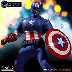 ONE:12 COLLECTIVE Captain America: Deluxe Classic Version 2016 Con Exclusive